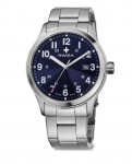 watch SWIZA Kretos Gent SST blue-metal WAT.0251.1007