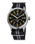 watch KRETOS Gent Postauto, SST, black, black WAT.0251.1011