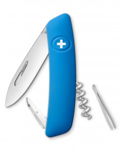 SWIZA D01 Swiss Knife Blue KNI.0010.1031 blister