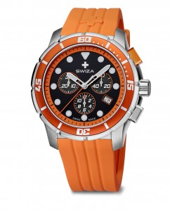 watch TETIS Chrono,SST, black,orange WAT.0463.1004