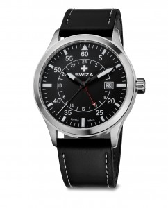 watch SWIZA Siriuz GMT SST black-black WAT.0352.1001