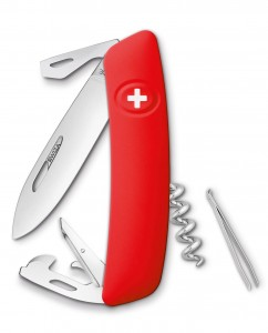 SWIZA D03 Swiss Knife Red KNI.0030.1002 Giftbox