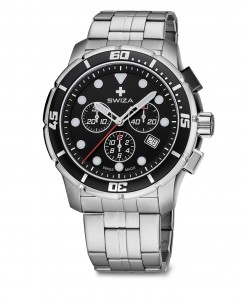 watch TETIS Chrono SST,black, metal WAT.0463.1002