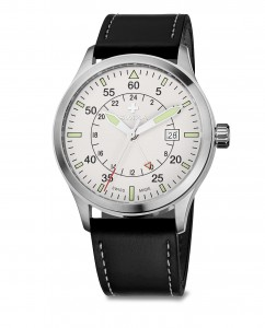 watch SIRIUZ GMT, SST, white, black WAT.0352.1004