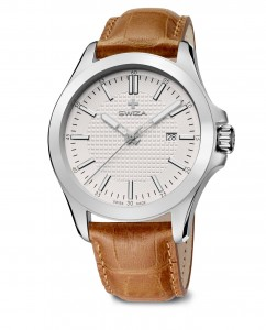watch URBANUS, SST, eggshell, brown WAT.0761.1006